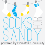 Socks for Sandy, a fundraiser for Hurricane Sandy survivors