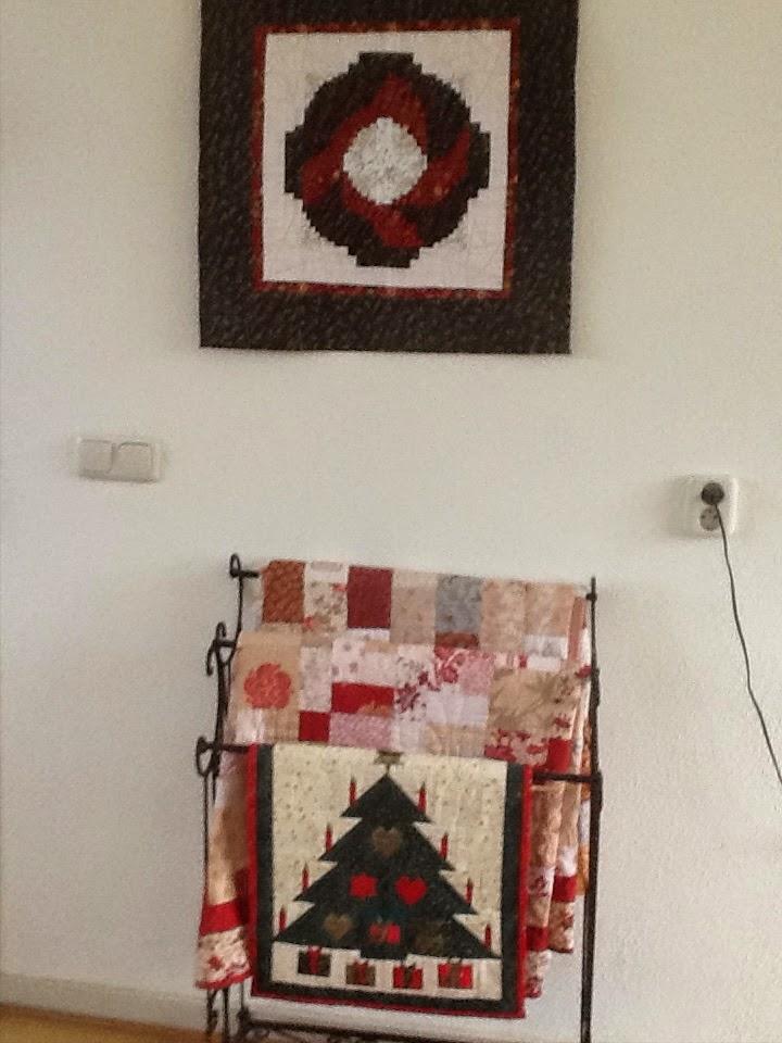 kerstkrans en kerstboom
