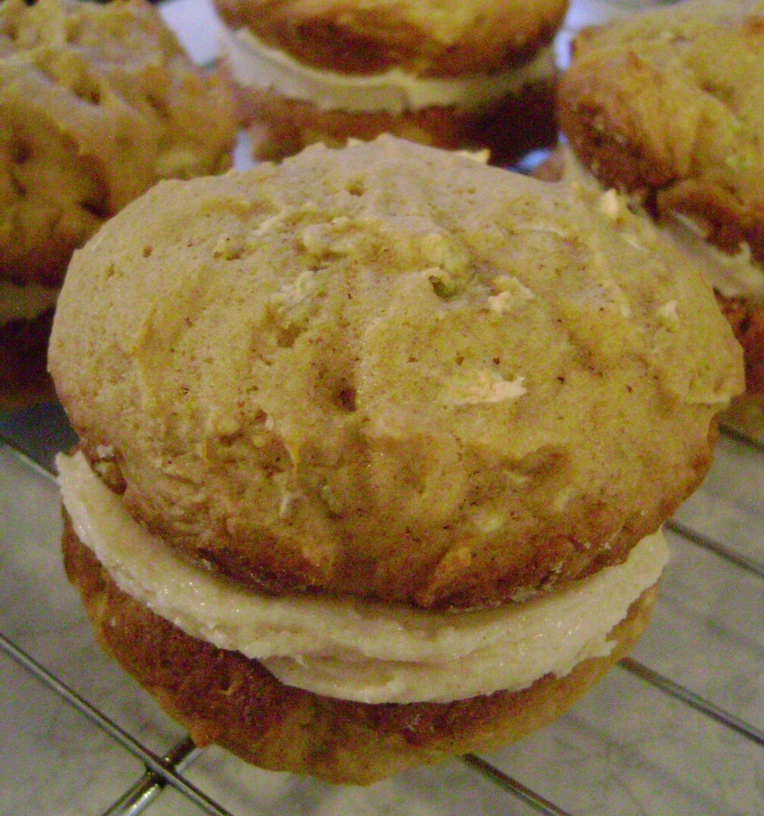 Jo and Sue: Apple Cinnamon Whoopie Pies with Browned Butter Frosting