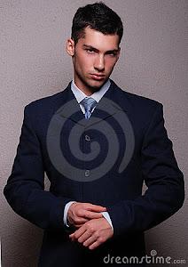 Presentación en una entrevista laboral-varón