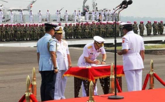 Serah Terima Jabatan Kepala Staf TNI Angkatan Laut (Kasal)