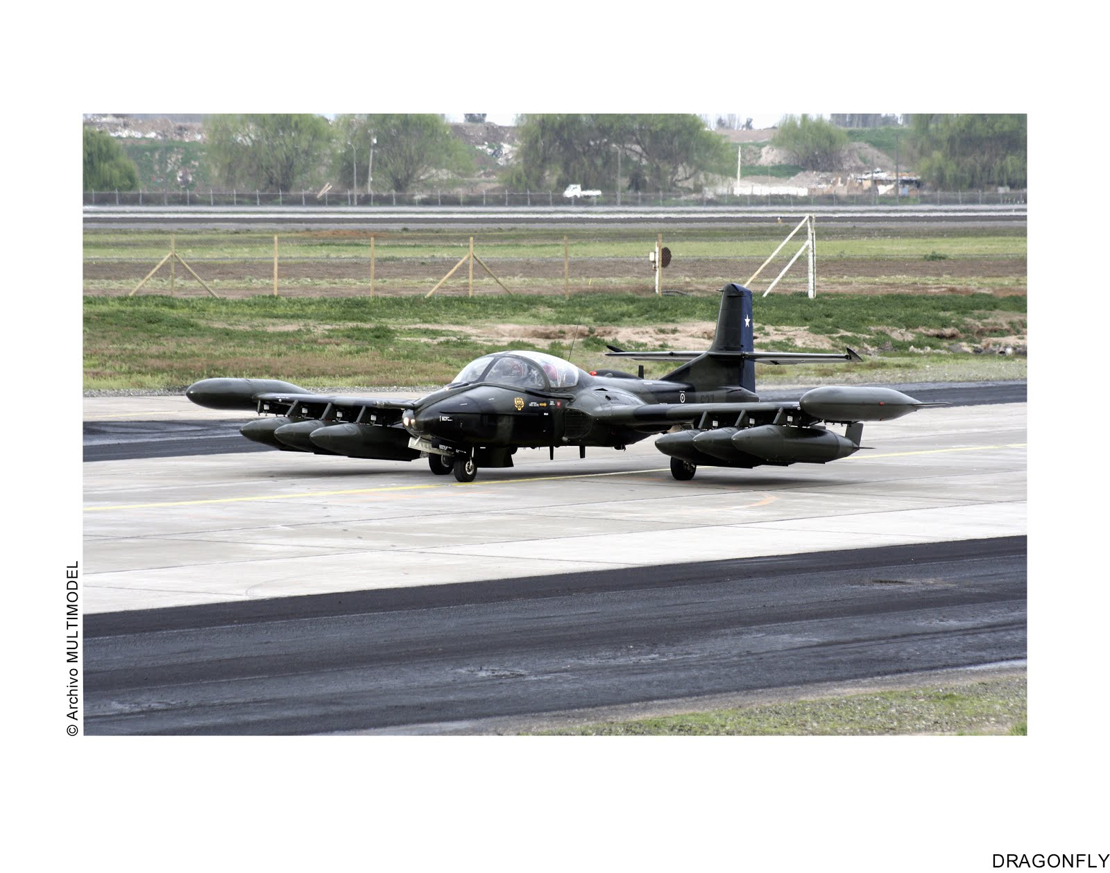 "A-37B DRAGONFLY, ""DRAGONFLY"", Ediciones MULTIMODEL"