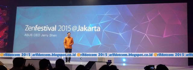 Presentasi CEO Asus Jerry Shen