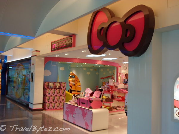 Taiwan Taoyuan International Airport Terminal 1 Hello Kitty Store