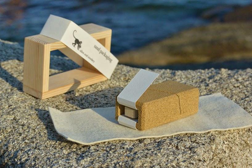 Coffrets Cadeaux, Fabriqués avec du Sable, Idées Durables