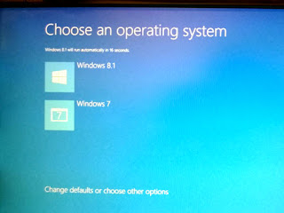 Windows 7 and Windows 8.1 dual-boot