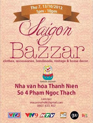 Hội chợ Saigon Bazaar lần 1 - CayPhaLe.com