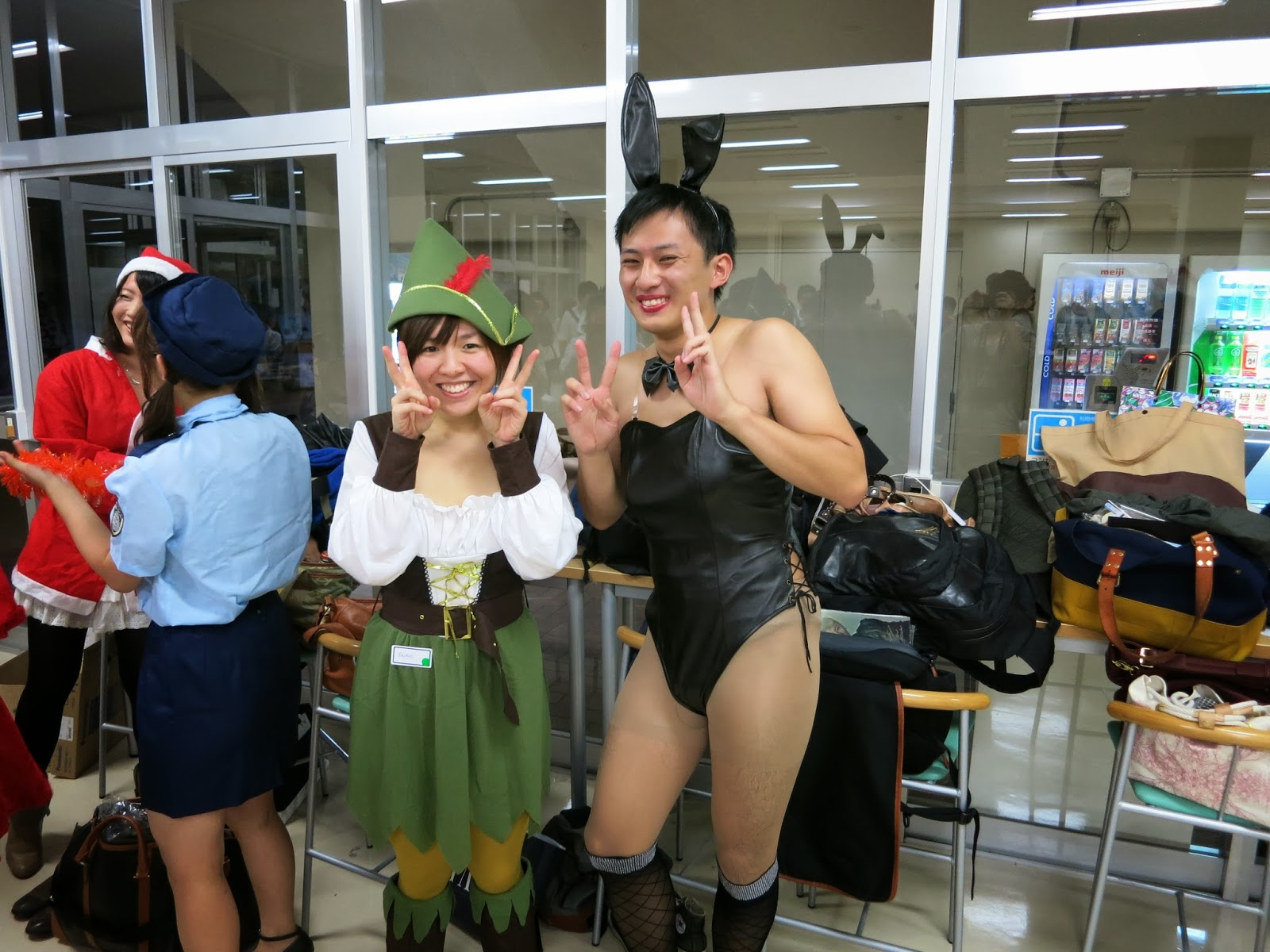 music and japan~: welcome/halloween party~ kobe university
