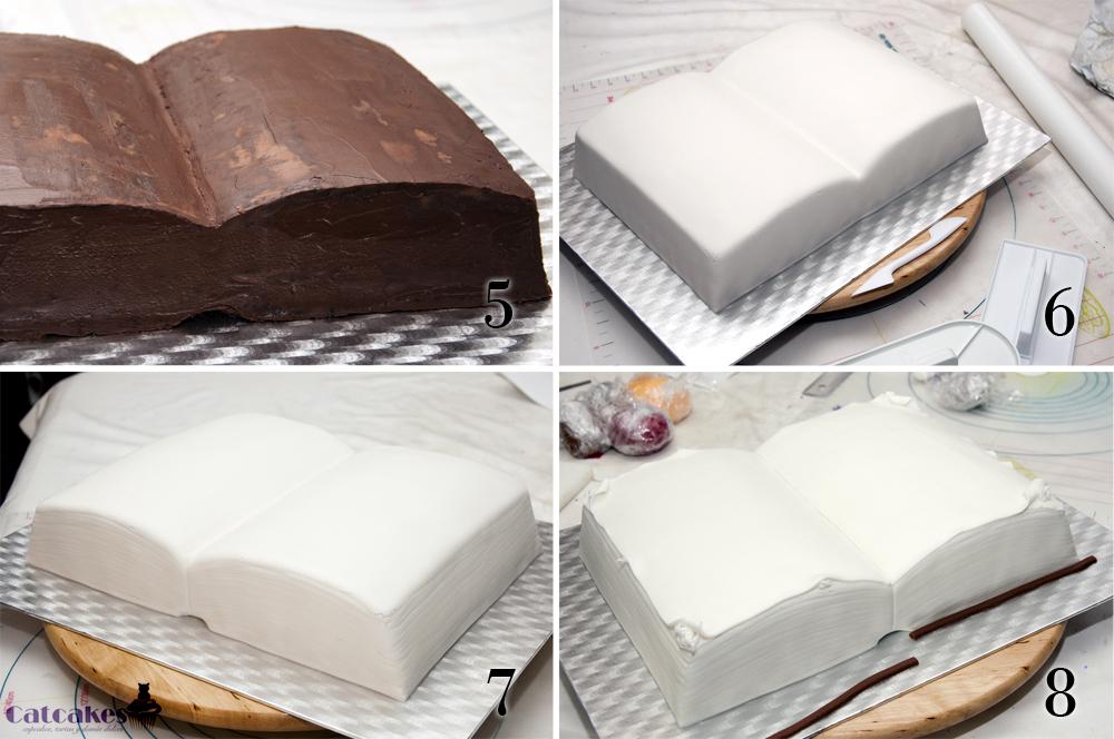 tortas de comunion en forma de libro abierto