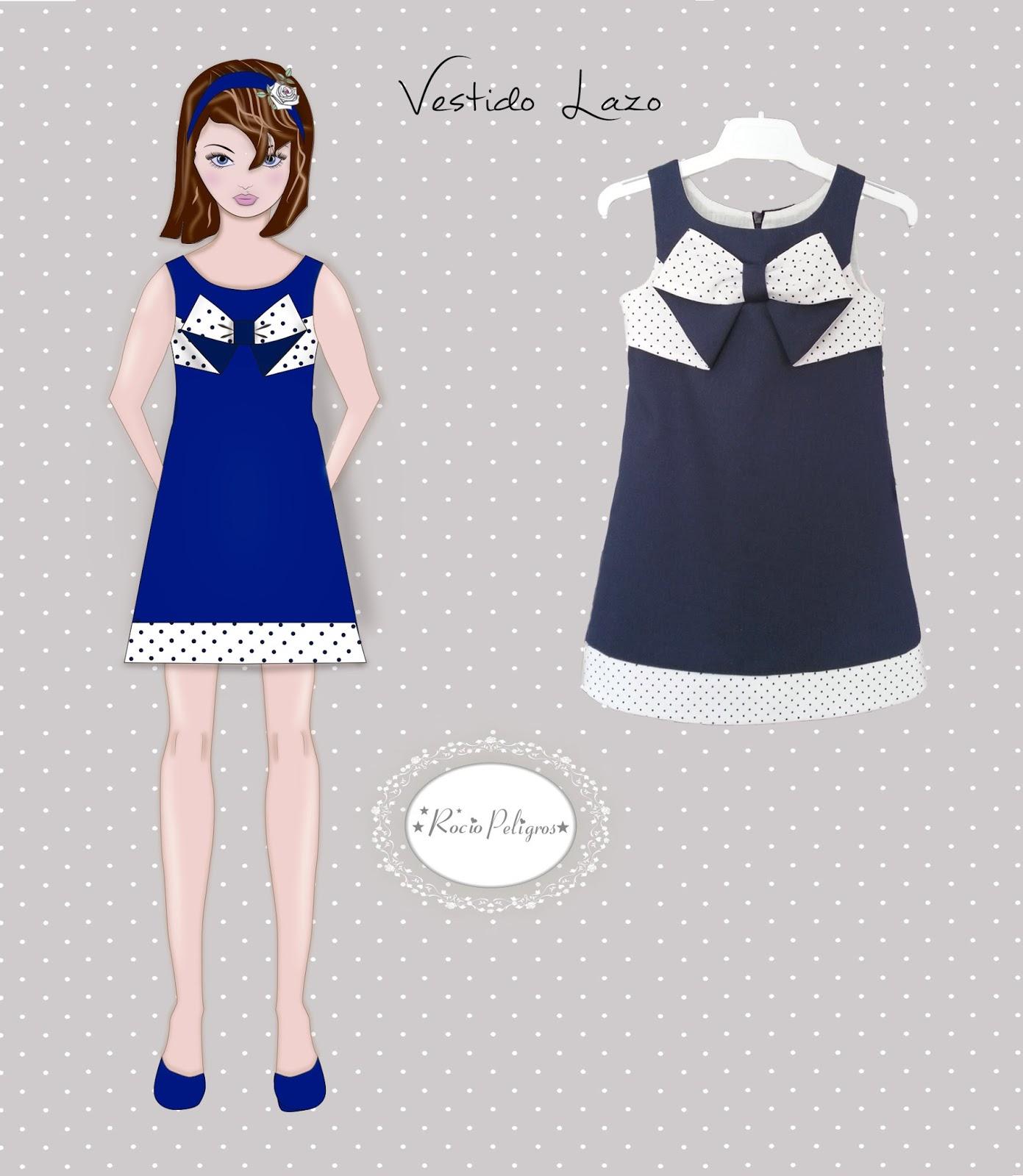 Costura DIY by Rocio Peligros: VESTIDO LAZO