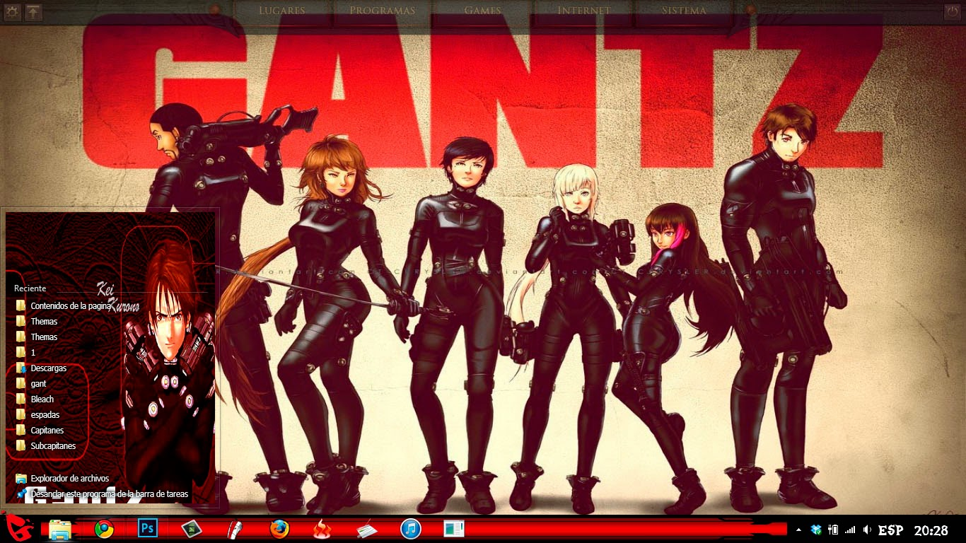 [ Theme Win 8 ] Gantz 4