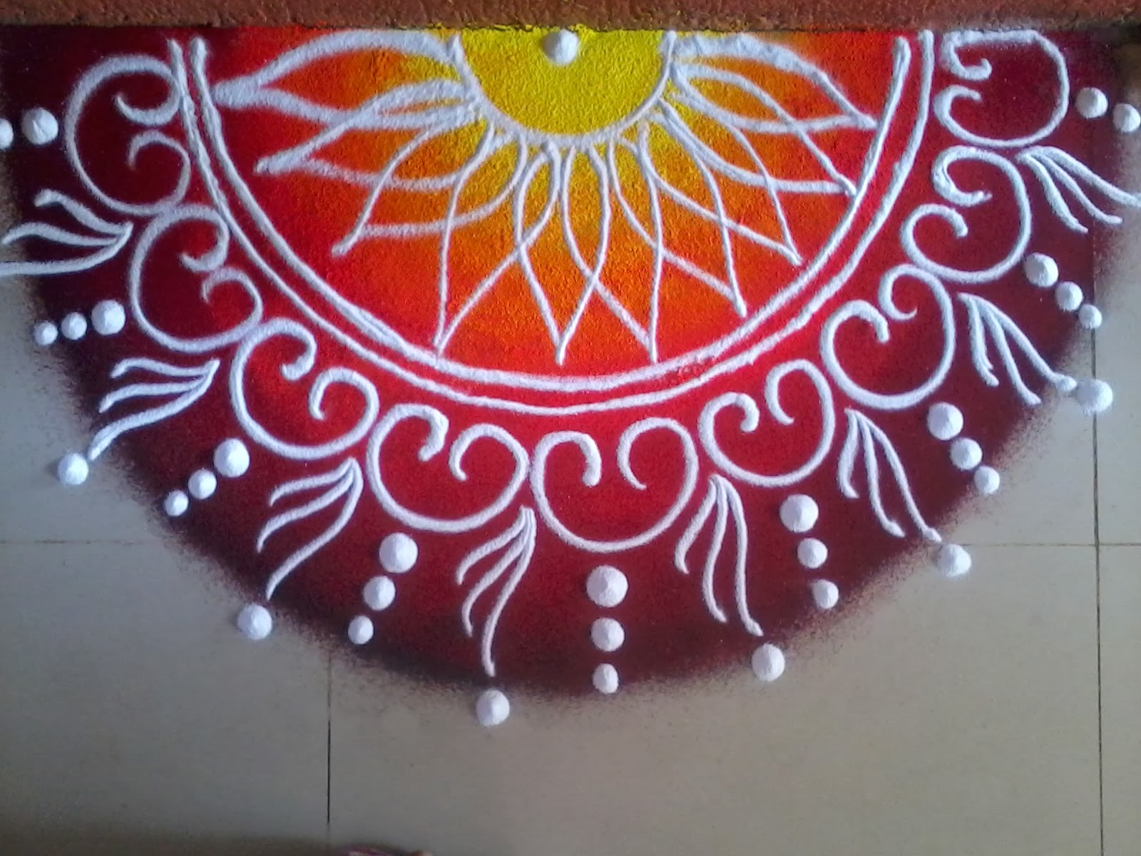15 best rangoli designs for competition styles at life