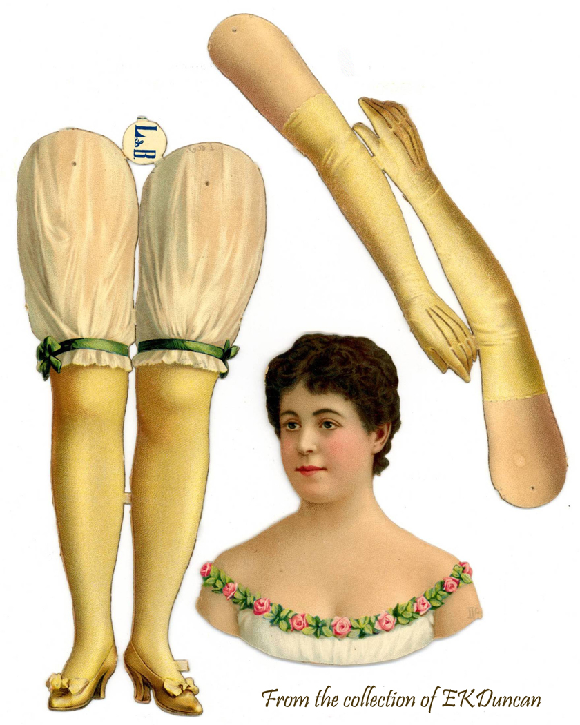 Opera Diva Adelina Pattie - Prima Donna Doll with pink roses on bodice