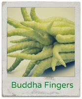 buddha fingers, pomelo, kumquat, citrus caviar, limequat, citrus fruit