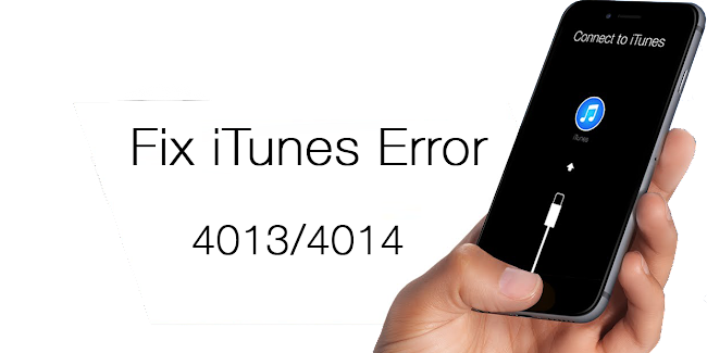 Fix iTunes error 4014