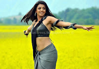 Kajal, agarwal, hot, saree, photos, navel, show