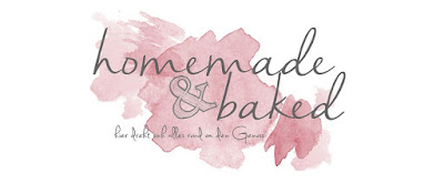 homemade and baked Food-Blog