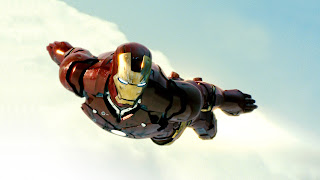 Flying Iron Man HD Destop Wallpaper