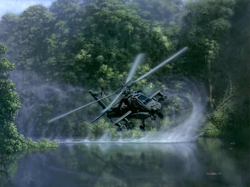 AH-64 Apache Multi-mission Attack Helicopter