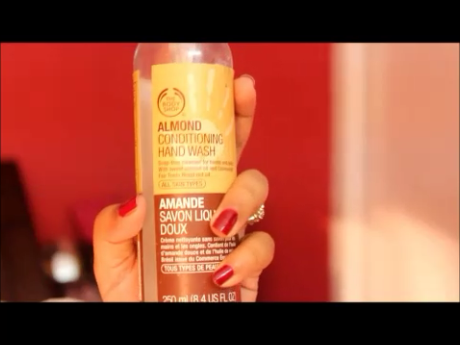 The Body Shop Almond Hand Wash