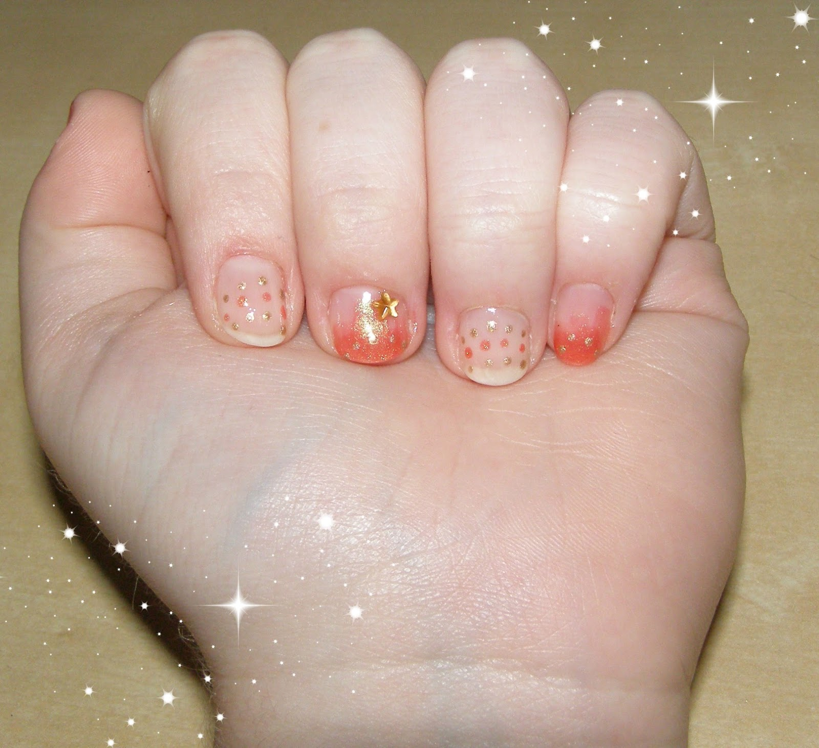 Alluring Alyss Beauty *:・゚✧: Fire Fairy Nail Art~!