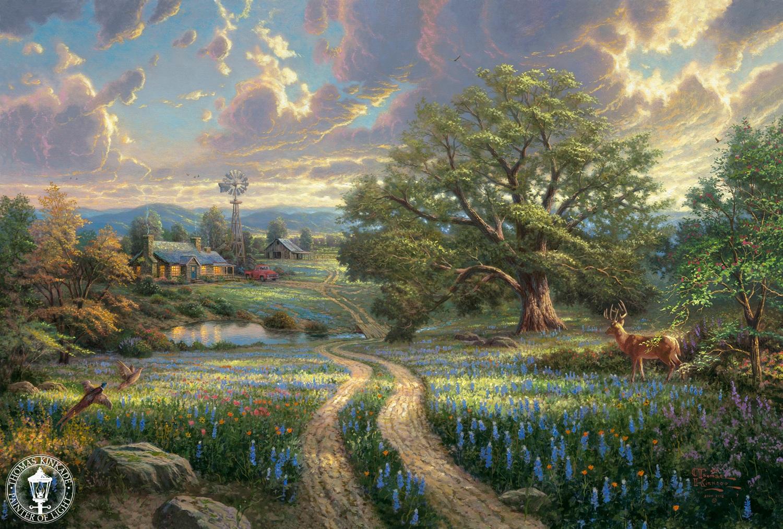 My Favorite Artists Thomas Kinkade