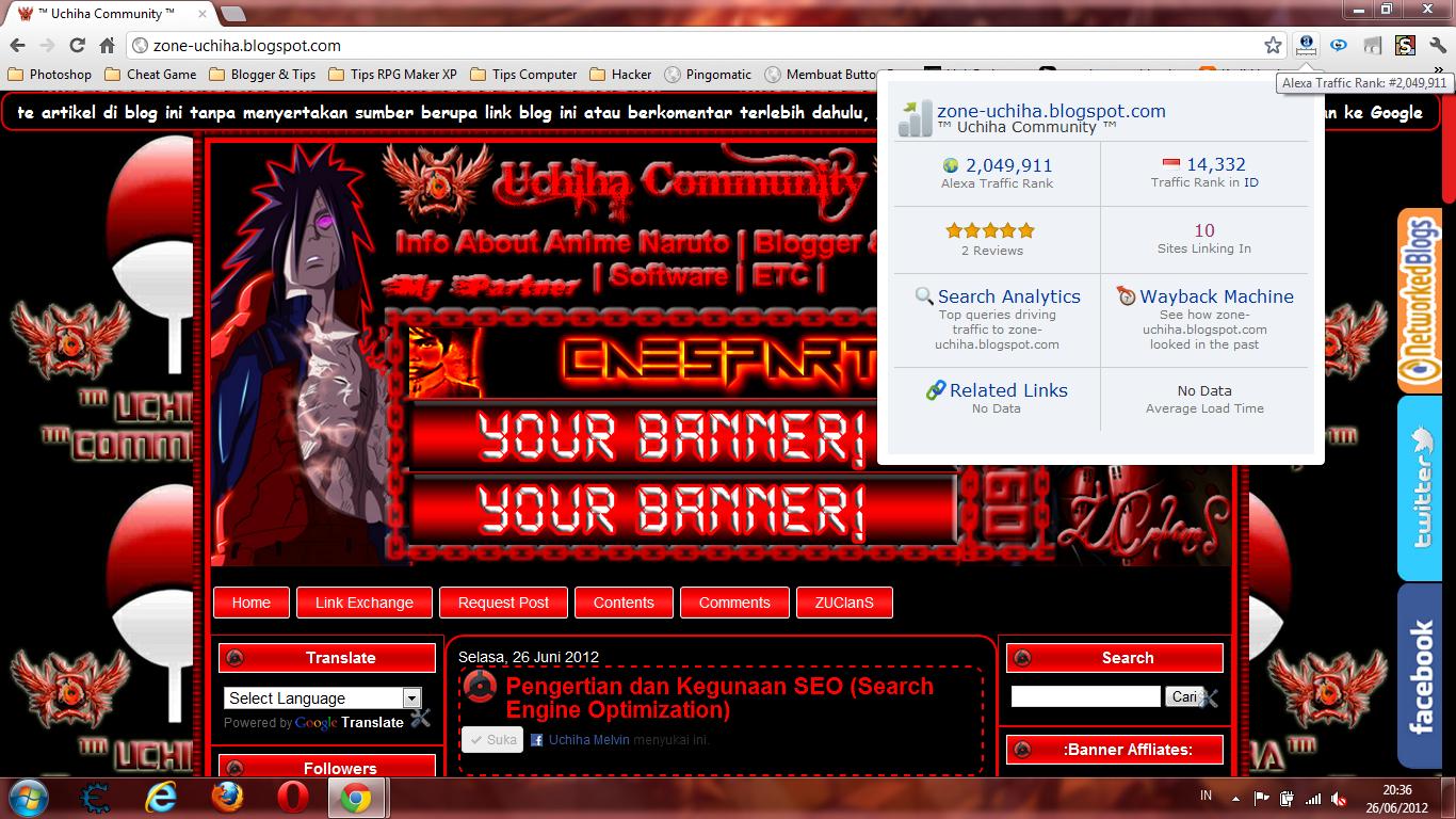 Cara Memasang Alexa Toolbar Pada Google Chrome. | http://zone-uchiha.blogspot.com | ™ Uchiha Community ™ | The Clan Uchiha | ZUClanS | Uchiha Melvin