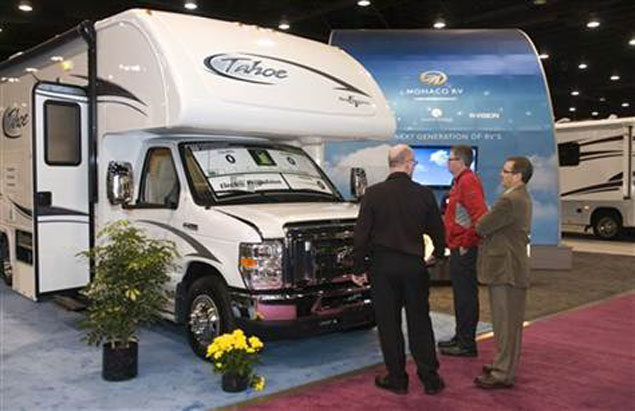 49th National RV Trade Show (全米RVショー・ルイビル)