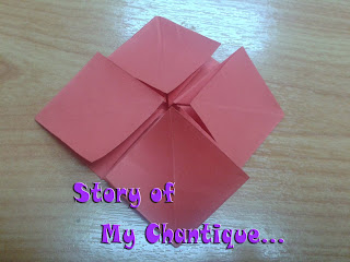 Story of My Chantique~~: DIY- Tutorial Cara Membuat Origami Love