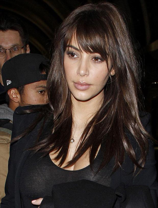 Kim Kardashian Top 10 Hairstyles Design 2013 Photos