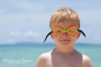 Shannon Hager Photography, Okinawa, Beach, Okuma, Kids Goggles