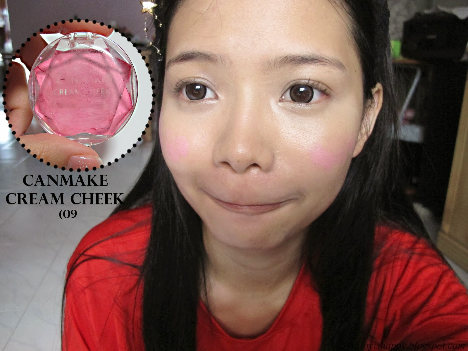 canmake cream blush 09
