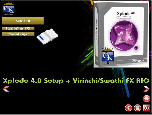 Canopus Xplode Pro V4.04. Born ayudas motor centro Hotel