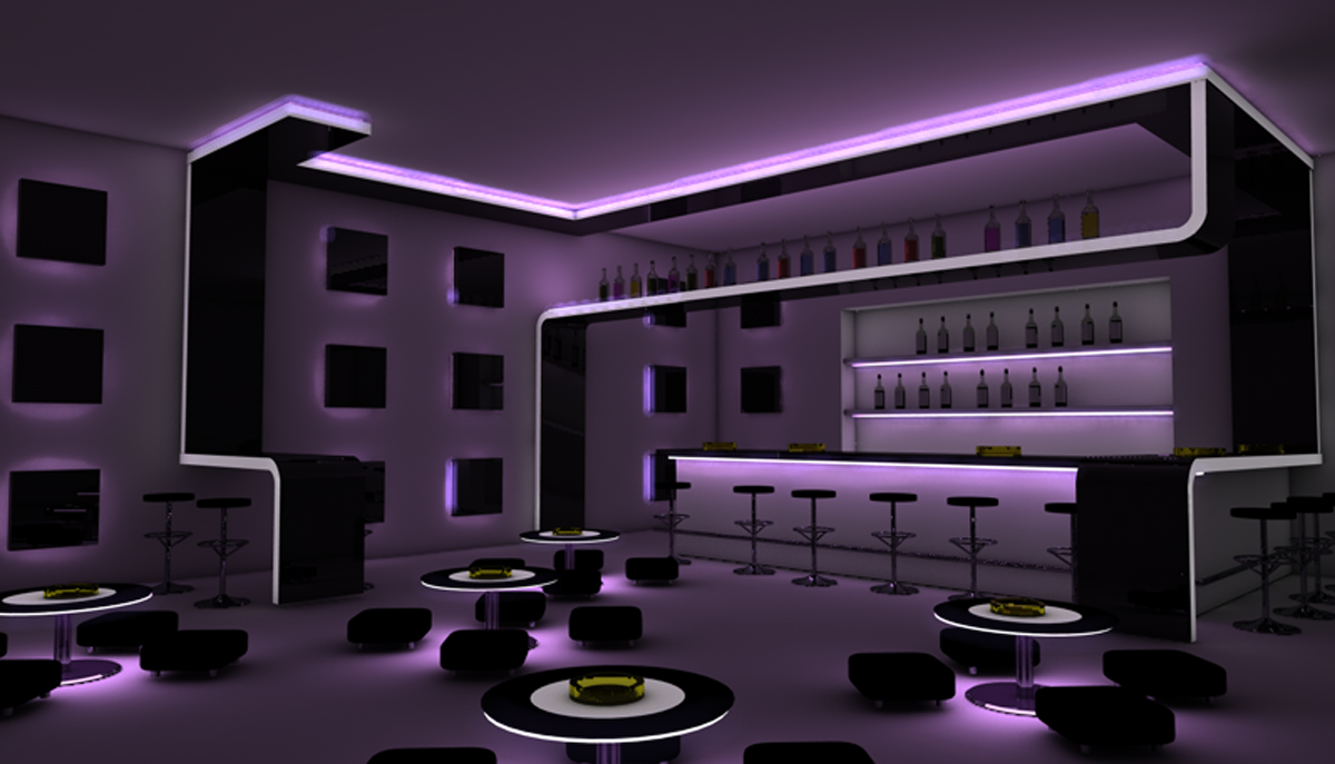 Bar Club Design.