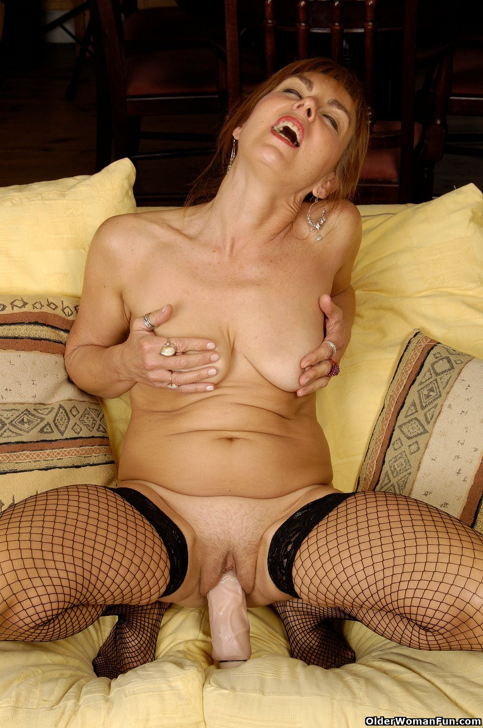 Double dildo pegging