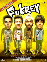 Fukrey - 2013 Hindi mobile movie poster hindimobilemovie.blogspot.com