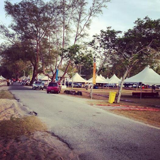 Fiesta Mesra Belia 1 Malaysia di Pantai Rhu Sepuluh