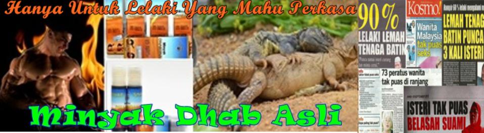 Minyak Dhab Sinai Asli
