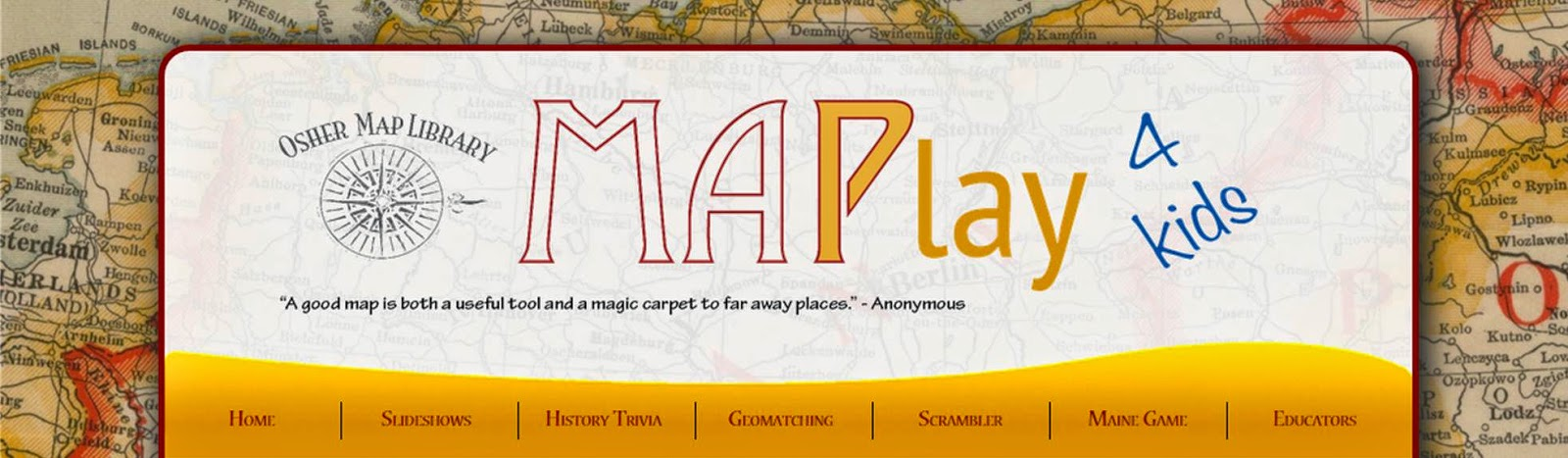 Osher Map Library MaPlay 4 kids