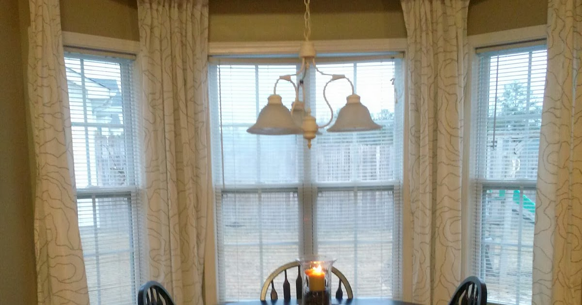 Is It Time For Coffee Diy Bay Window Curtain Rod