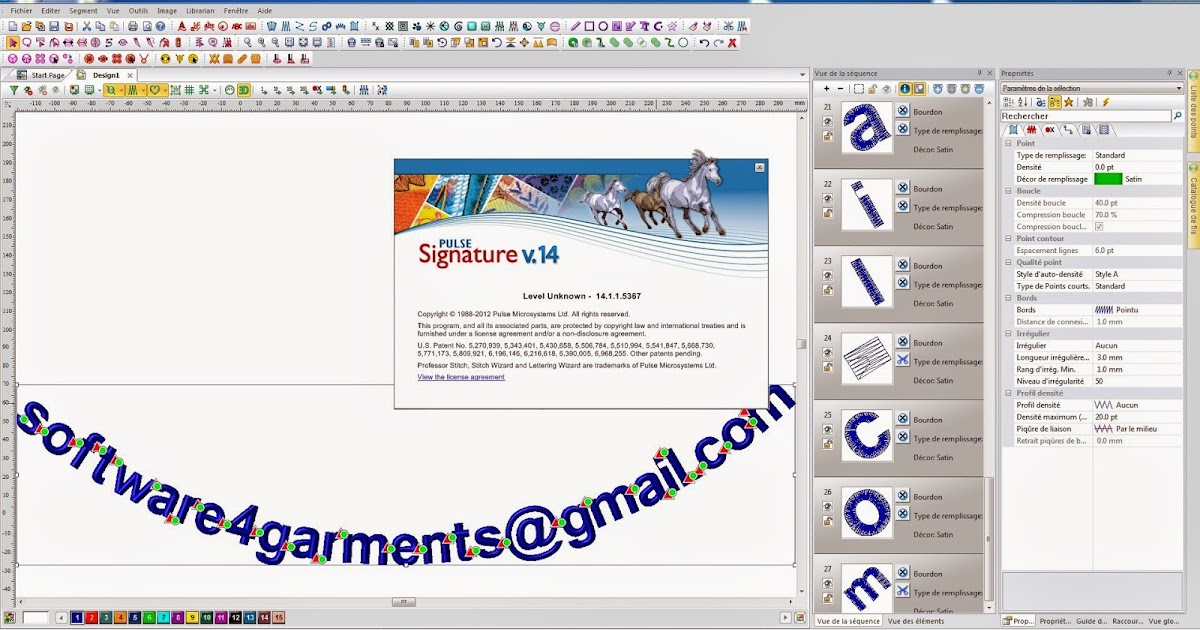 Pulse signature 14 software retail seller for Descargar embroidery office design 7 5 full