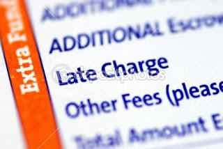biaya terlambat bayar kartu kredit