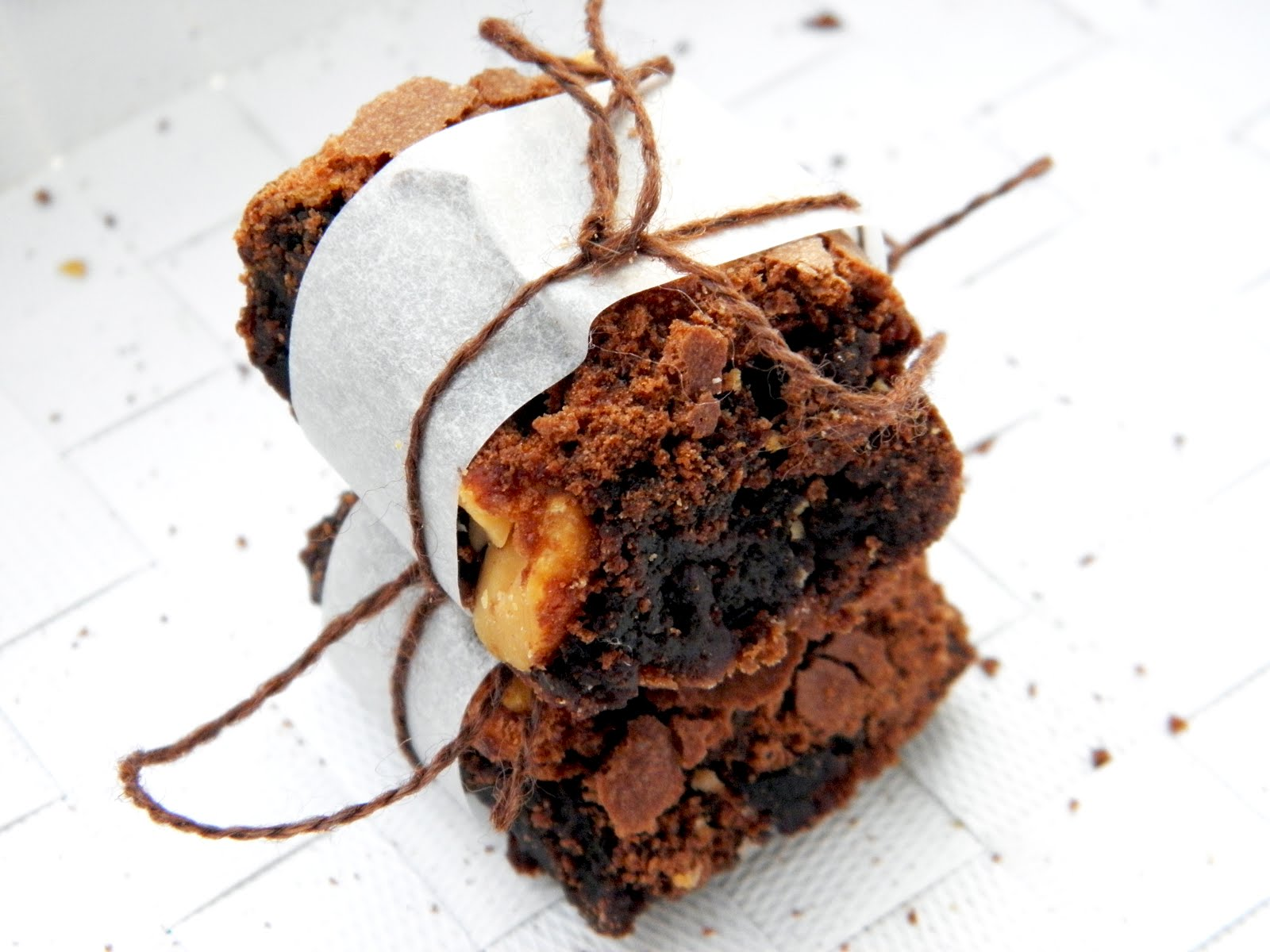 Decadent chewy gooey browned butter brownies. The ultimate combination ...