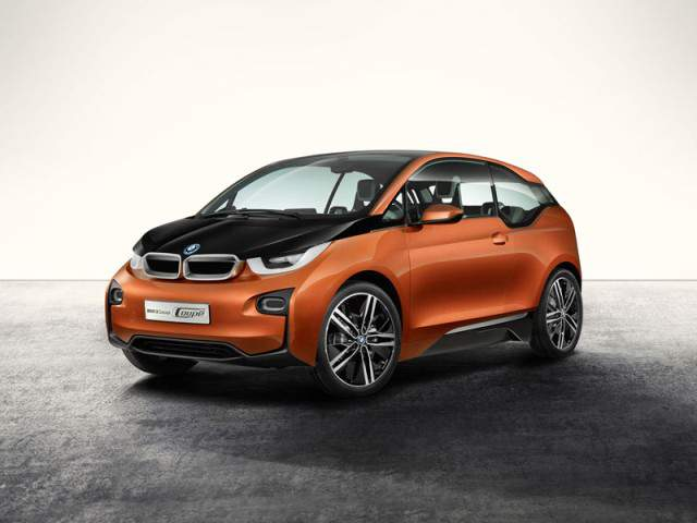 BMW i3 Concept Coupe at LA Auto Show