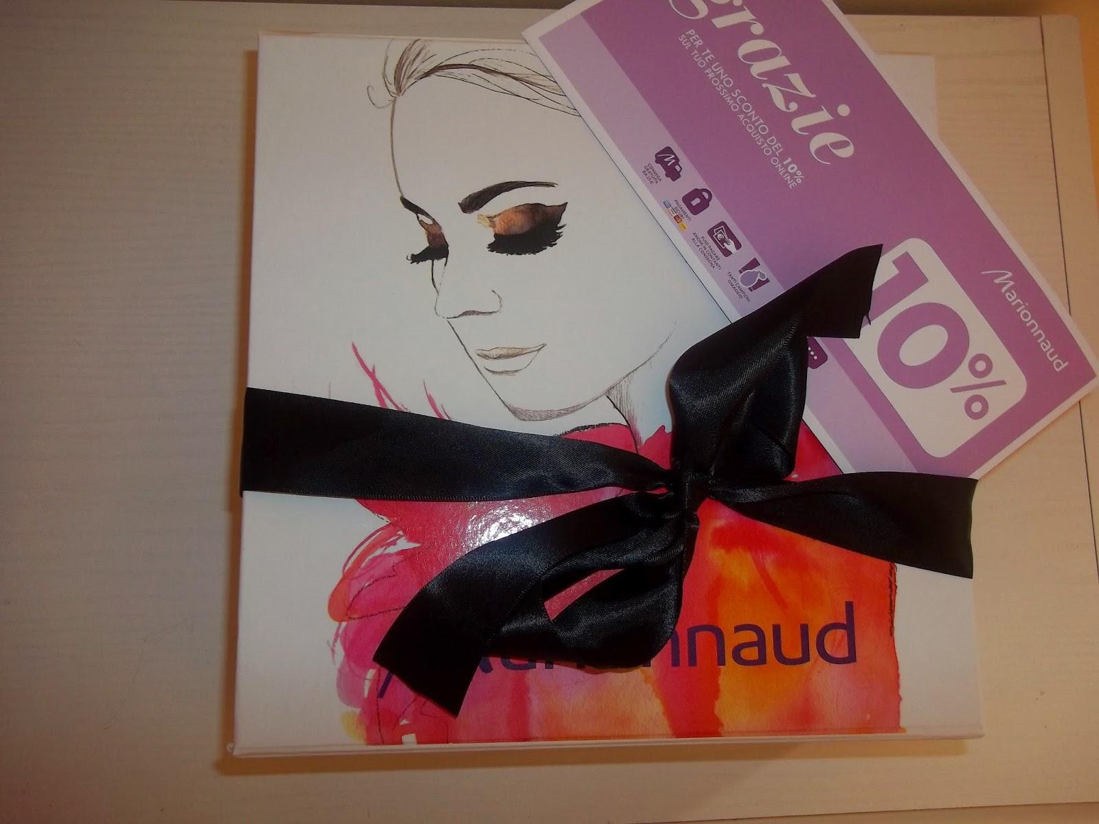 marionnaud beauty box: la mia scatola delle meraviglie!