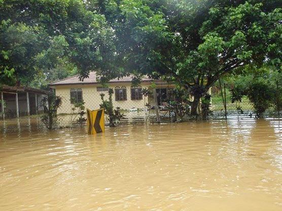 Banjir Besar di Temerloh Pahang 1971 VS 2014