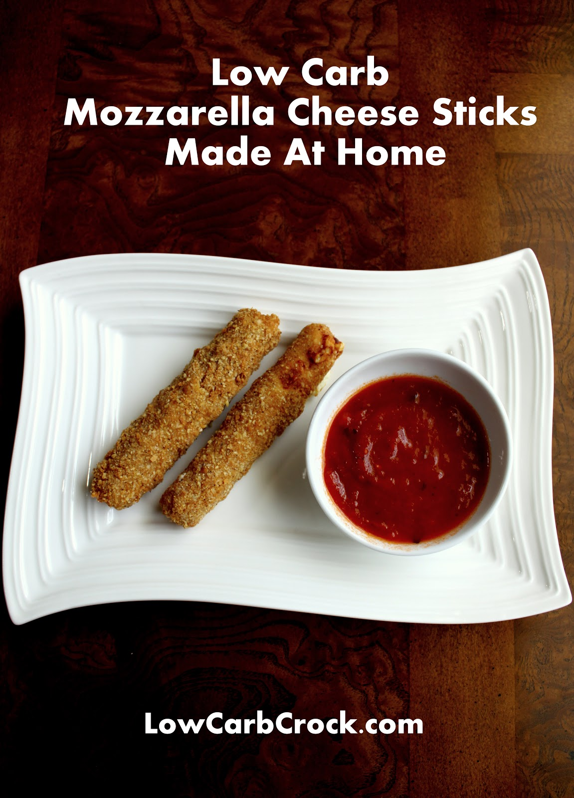 How To Make Low Carb Fried Mozzarella Cheese Sticks At Home