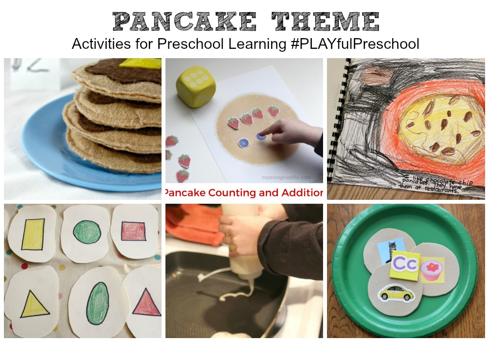 Pancake Theme Activities for Kids