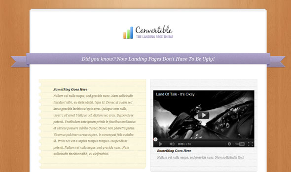 Convertible - Premium Wordpress Theme Free Download.