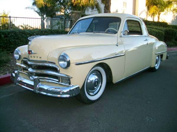Great running 1950 plymouth business coupe auto for 1950 plymouth 2 door sedan